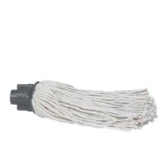 Esfregona para cabo, modelo curto 200gr., Branco