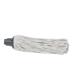 Esfregona para cabo, modelo curto 250gr., Branco