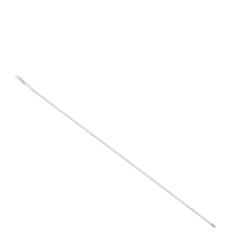 Cabo flexível, aço inox, 750mm, branco